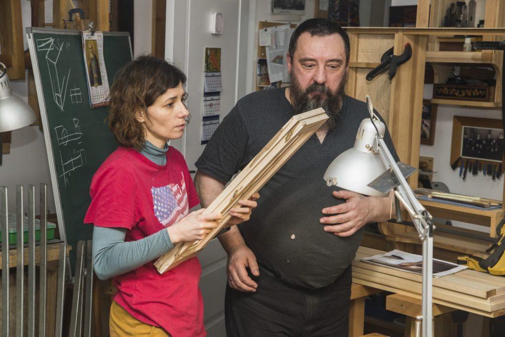 Вера Савенко и Федор Бондарев