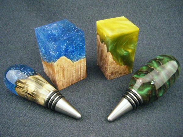 Пример изделия (source - alumilite)