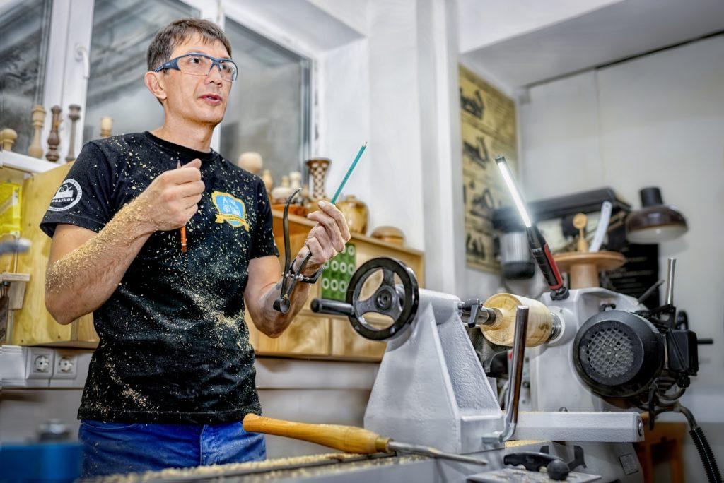 Андрей Громов, столярная школа Rubankov