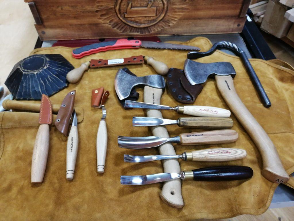 Инструменты ложкаря