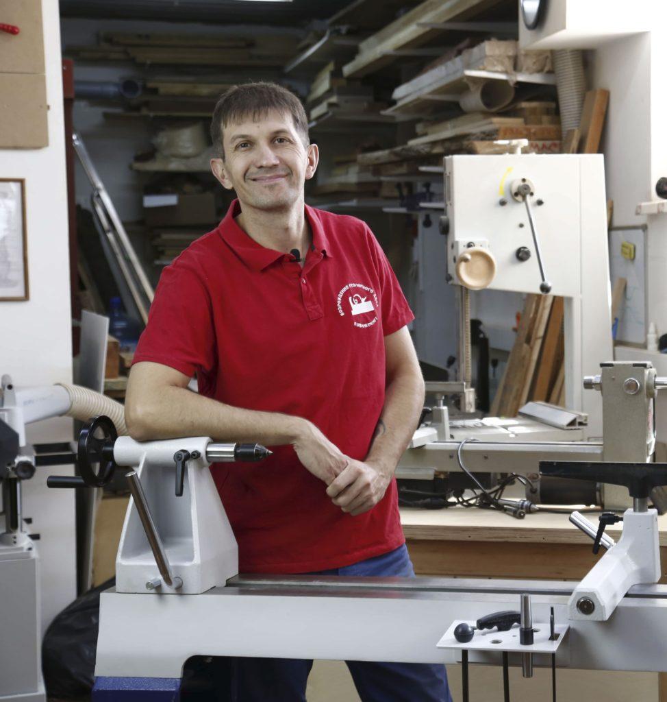 Андрей Громов, преподаватель токарного дела