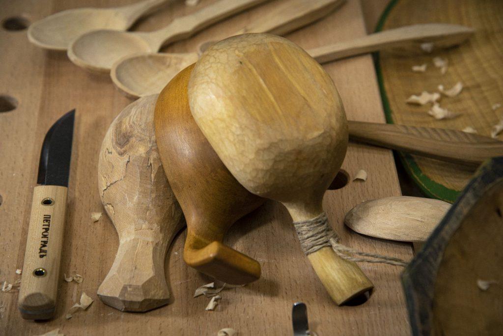 """Курс """"Резьба деревянной посуды"""""""