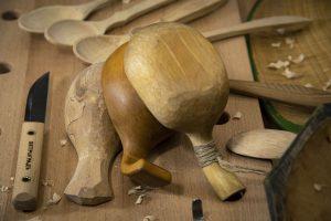"""Практикум """"Резьба деревянной посуды"""""""