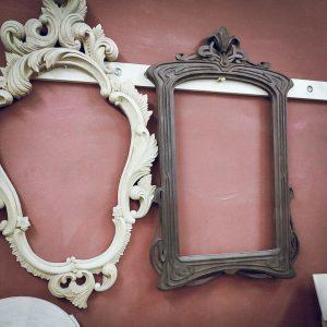 Резные рамы под зеркало