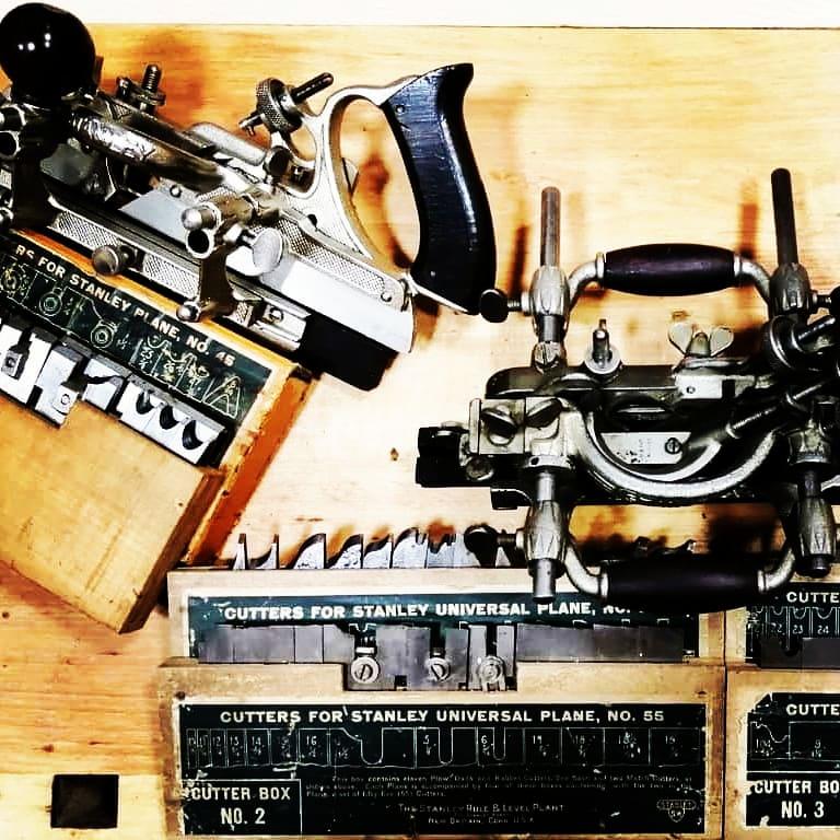 Комбинированные рубанки из коллекции инструментов (Тарас Малык )