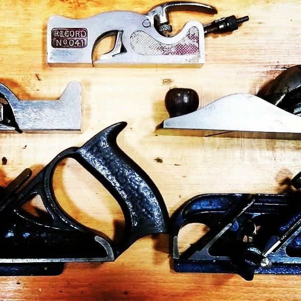 Зензубели и торцевые рубанки из коллекции инструментов (Тарас Малык )