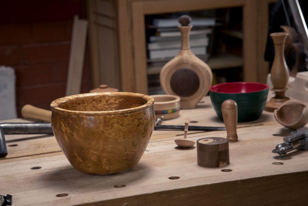 Чаша из карельской березы (токарная школа rubankov)
