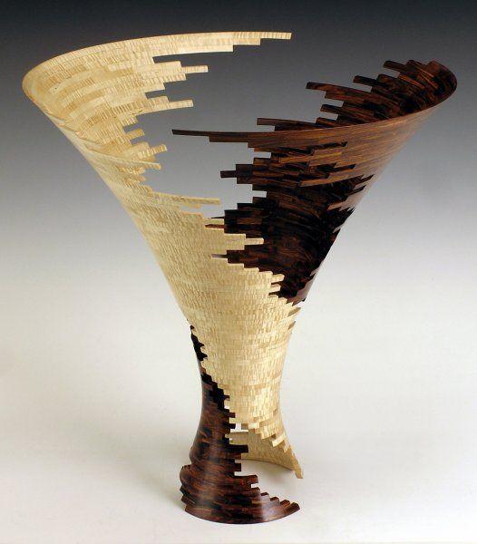 сегментная ваза автор Bud Latven
